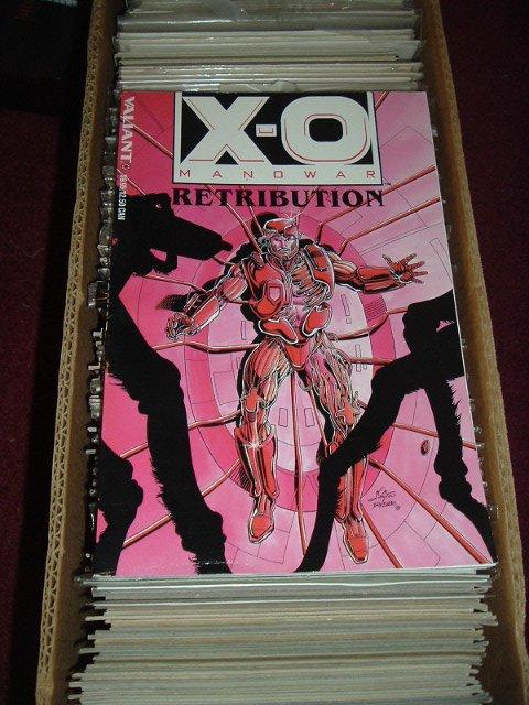 X-O Manowar TPB: Retribution (Collects Valiant comics issues #1-4) BRAND NEW UNREAD, very fine-