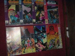 Batman Gotham Nights & Gotham Night II FULL SETS DC Comics comic books