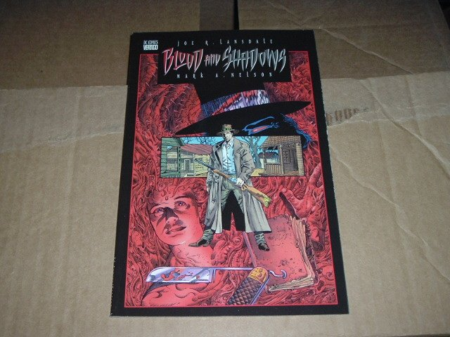 Blood and Shadows #1 (DC Vertigo Comics) Graphic Novel GN Comic Book, SAVE $$$ by COMBINING