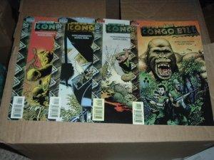 Congo Bill #1, 2, 3, 4 #1-4 FULL SET (DC Vertigo Comics) COMPLETE SET, SAVE $$$ by COMBINING