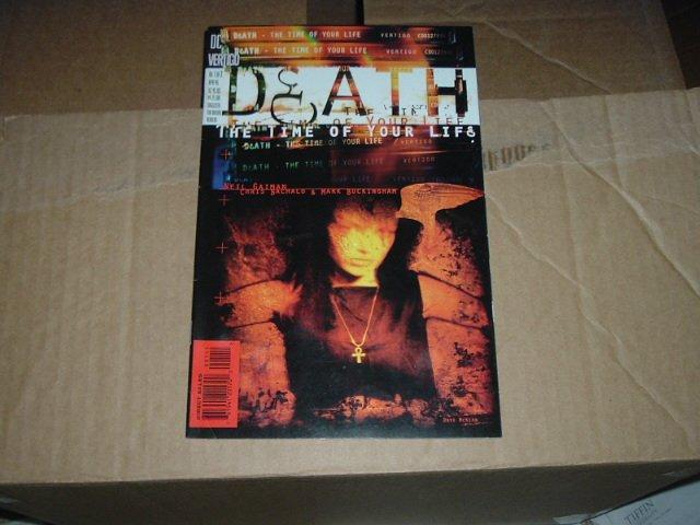 Death: The Time of Your Life #1 (DC Vertigo Comics) Gaiman, COMBINE & SAVE $$$