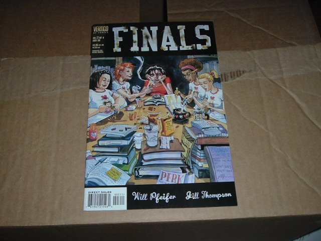 Finals #3 (DC Vertigo Comic) by Will Pfeifer & Jill Thompson, COMBINE & SAVE $$$