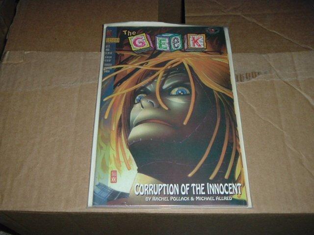 The Geek (Vertigo Visions 1-shot Graphic Novel) DC Vertigo Comic Book