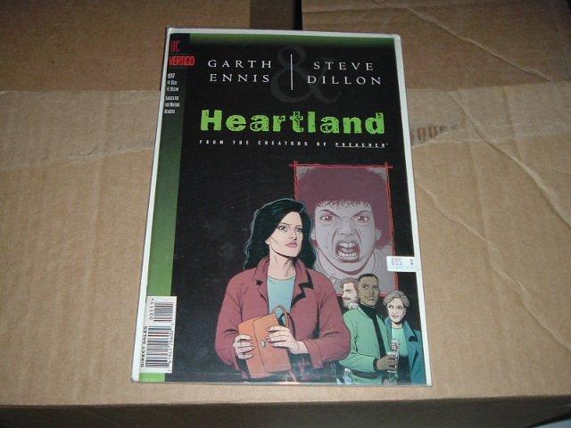Heartland 1-shot GN (DC Vertigo Graphic Novel Comic) by Garth Ennis Steve Dillon