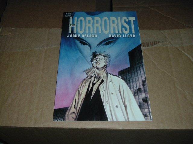 The Horrorist #1 GN (DC Vertigo Comics Graphic Novel) John Constantine Hellblazer