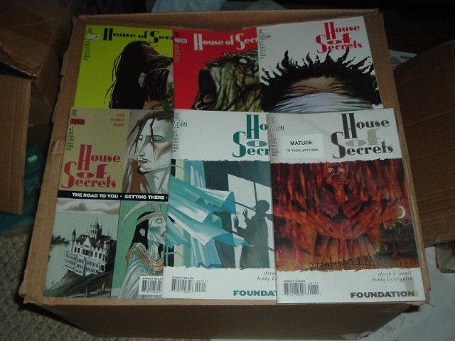 House of Secrets #1, 3, 9, 12, 13, 14 DC Vertigo Comics 1996-97 lot  SAVE $$$ with COMBINED SHIPPING