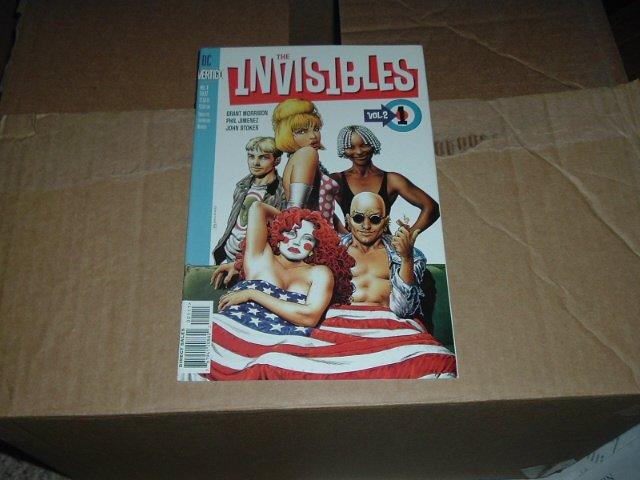 Invisibles Vol.2 #1 (1997) DC Vertigo Comics, story by Grant Morrison, SAVE $$$$ on SHipping