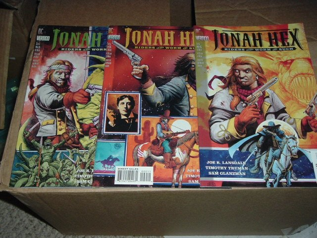 Jonah Hex Riders of Worm and Such #1, 2, 3 DC Vertigo Comics run SAVE $$$ with COMBINED SHIPPING