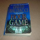 Hour Game (by David Baldacci) Paperback Book, serial killer murder mystery, For Sale