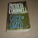 Cause of Death (Kay Scarpetta novel by Patricia Cornwell) great paperback murder mystery for sale