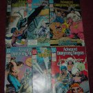 Advanced Dungeons & Dragons old DC/TSR comic books 25, 28, 33, 34, 35, 36 RARE LAST ISSUES, for sale