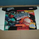 "NEW Ken Griffey Jr Winning Run ""FOR DISPLAY ONLY"" Authentic SNES Game Box, RARE item FOR SALE"