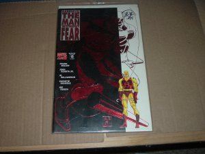 SIGNED Daredevil: The Man Without Fear #5 (Marvel Comics, Frank Miller) SIGNED by John Romita Jr.