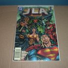 JLA #1 FIRST PRINT (DC Comics, Grant Morrison) justice league of america comic For Sale