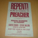 Mint & Rare PREACHER: REPENT! Preview Retailer Promo pre #1 by DC Vertigo Comics, FOR SALE