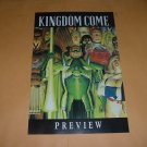 Kingdom Come Preview Promo RARE Mark Waid Alex Ross 8 Page DC Promotional Comic, For Sale