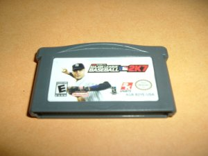Major League Baseball 2K7 (Nintendo Gameboy Advance) TESTED & WORKS GREAT, MLB 2007 game For Sale