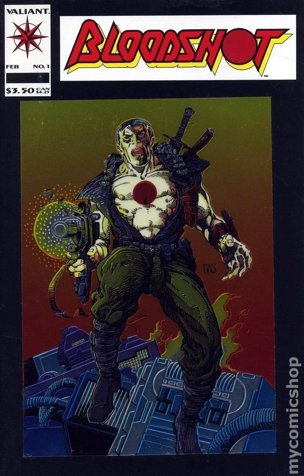 Bloodshot #1-51 vol 1 & #1-16 vol. 2 FULL SETS (70 TOTAL Valiant Comics on CD format) For Sale
