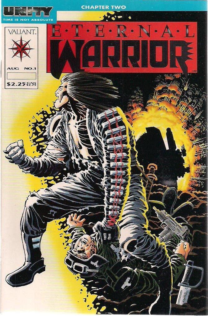 Eternal Warrior #1-50 FULL SET (Valiant vol. 1 Comics on CD) CDisplay comic reader format, For Sale