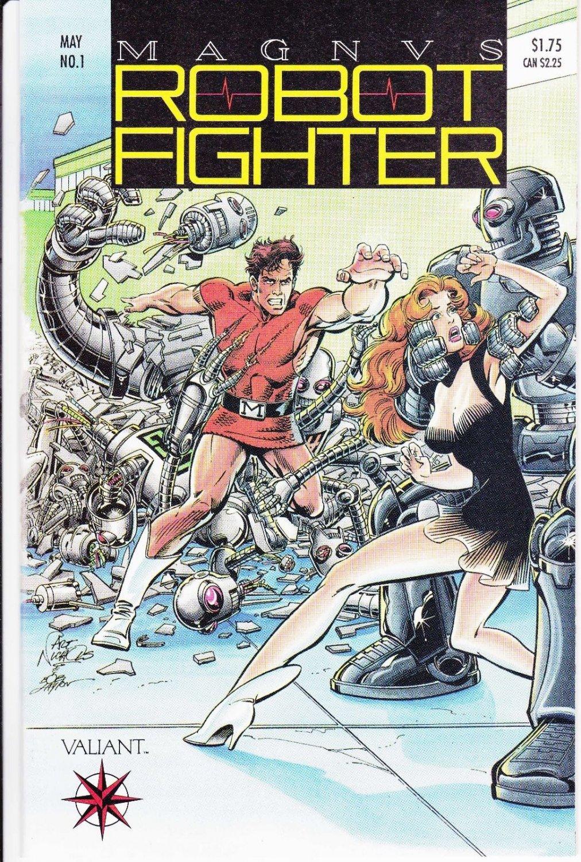 Magnus Robot Fighter 1-64 +#0 FULL SET (Valiant vol 1, 70 Comics on CD) CDisplay format, For Sale