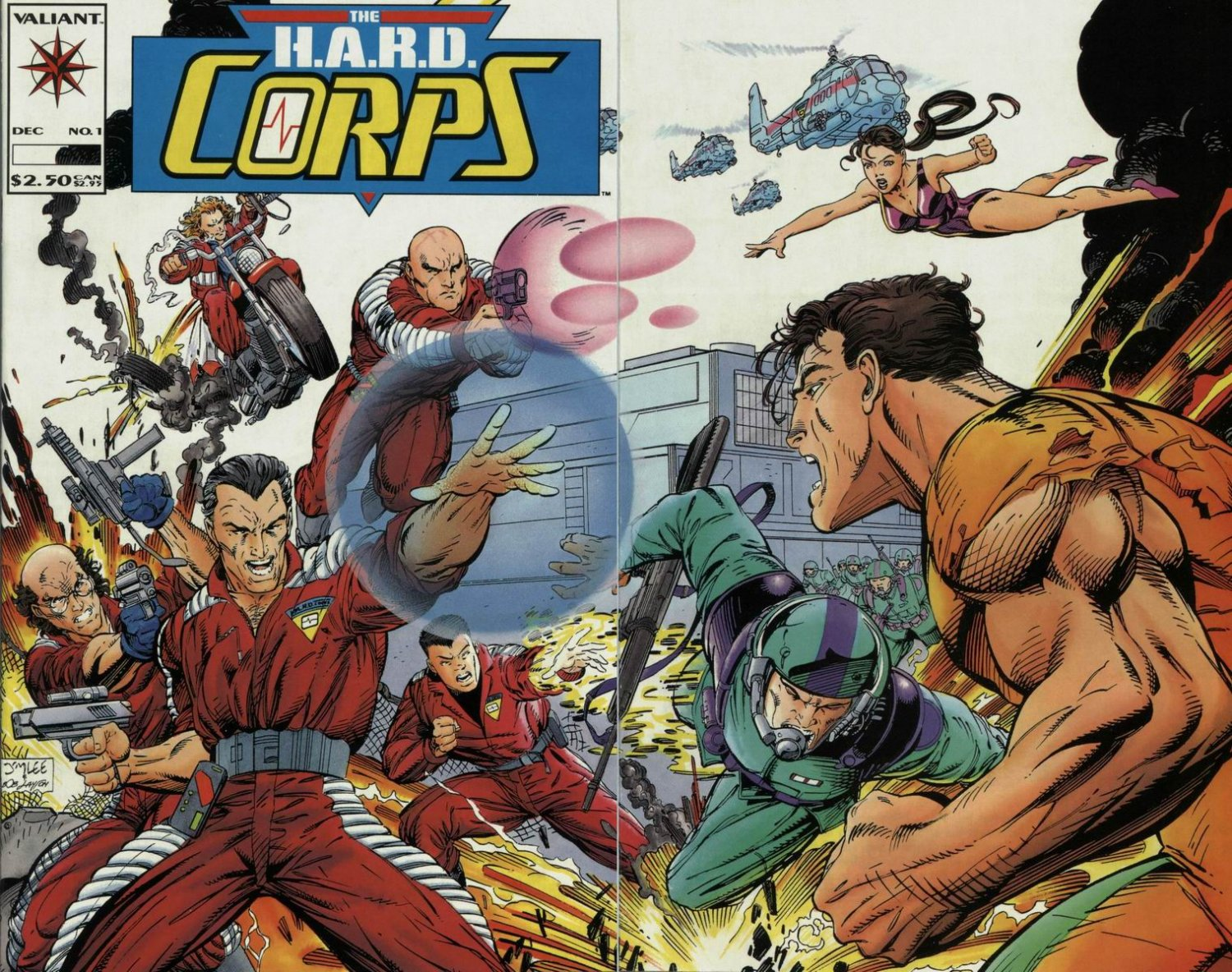 FULL SETS:  H.A.R.D. Corps, Secret Weapons, Punx. Valiant Comics on CD, CDisplay format, For Sale