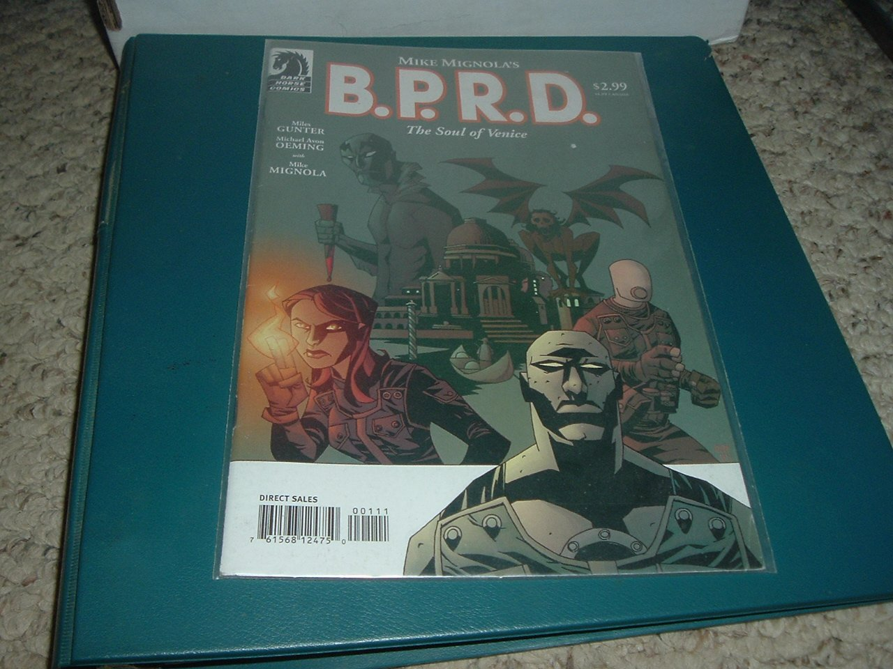 B.P.R.D.: The Soul of Venice 1-shot Special (Dark Horse Comics, Mignola BPRD) First Print, For Sale