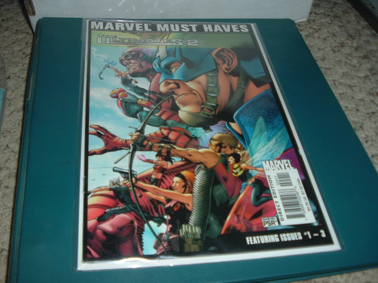 The Ultimates 2 #1-3 Collected TPB (Marvel Comics 2005) Millar, Marvel Must Haves edition, for sale