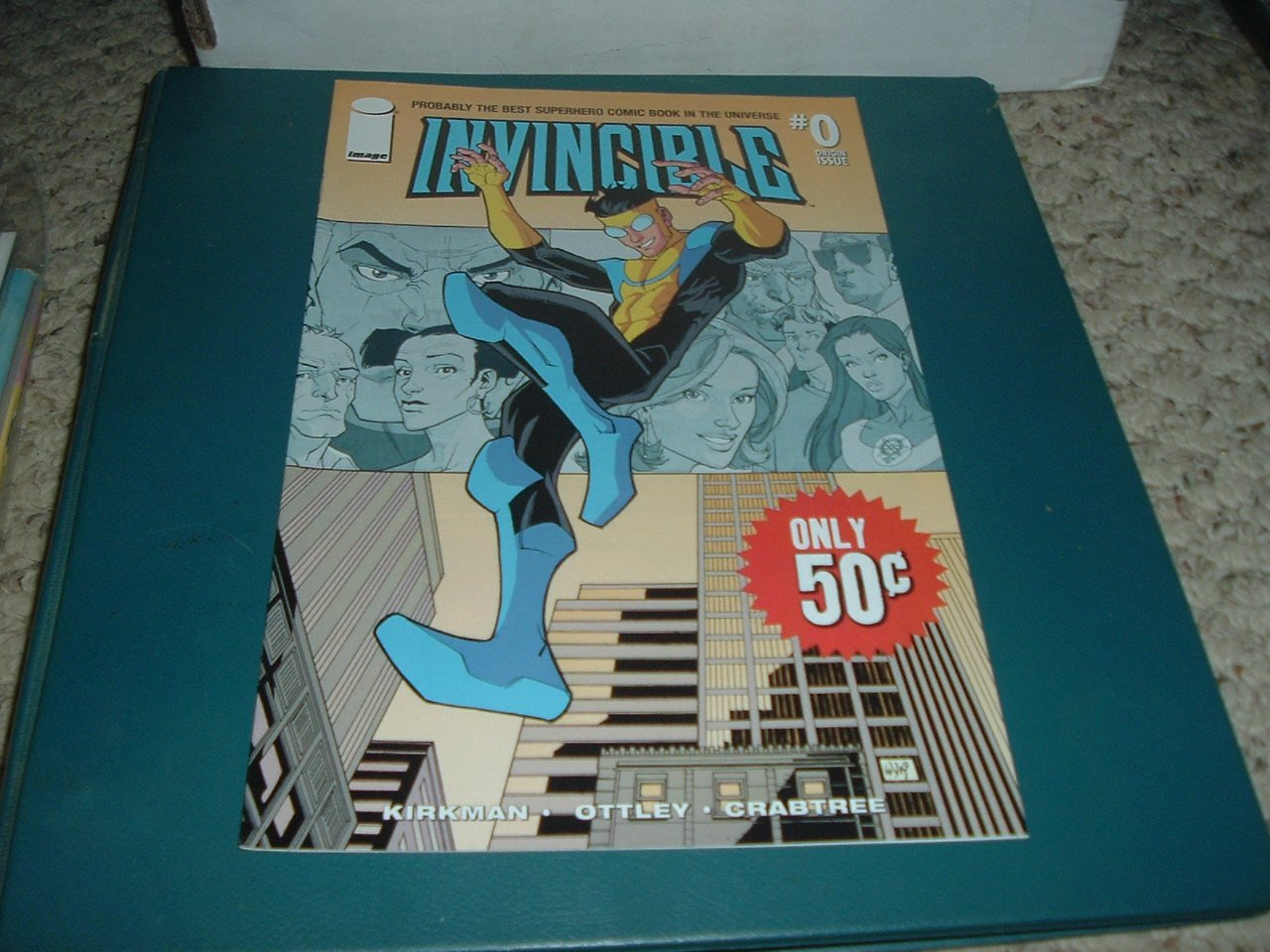 Invincible #0 (Image Comics, Kirkman, Ottley) Origin Issue comic for sale, SAVE $$ Shipping Special