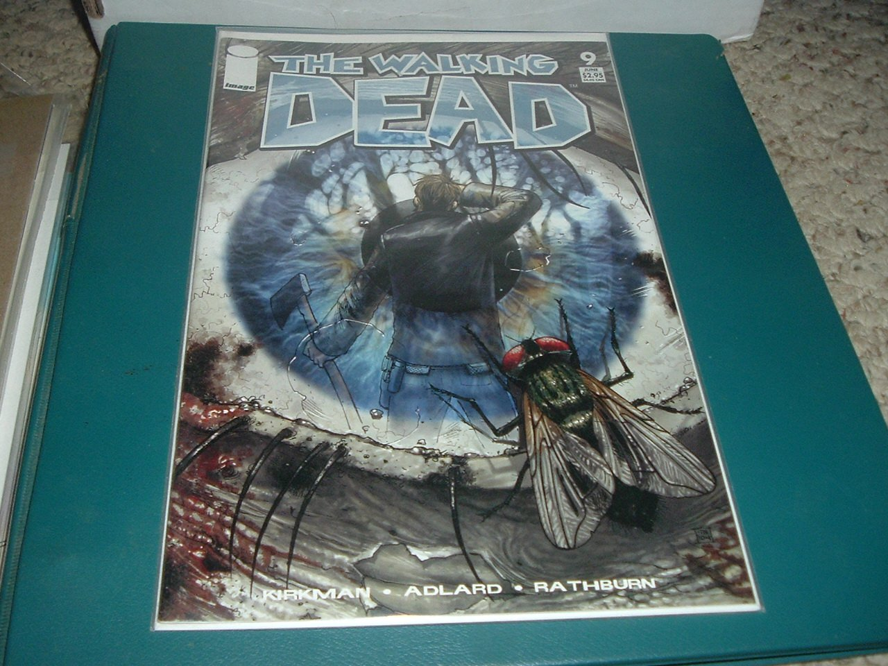 Walking Dead #9 NEAR MINT- FIRST PRINT Image Comics 2004 Kirkman, Save $ Shipping Special, for sale