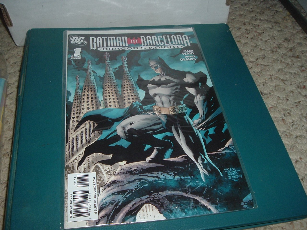 Batman in Barcelona: Dragon's Knight 1-Shot Graphic Novel NR MINT (DC Comics Waid Jim Lee) for sale