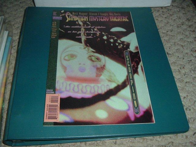 Sandman Mystery Theatre #20 (DC Vertigo comics) Scorpion Act 4 Wagner Seagle Davis, Save $ Shipping
