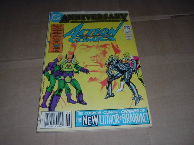 Action Comics #544 ORIGIN of New Luthor & Brainiac (DC Comics 1983) Save $$$ with Shipping Special