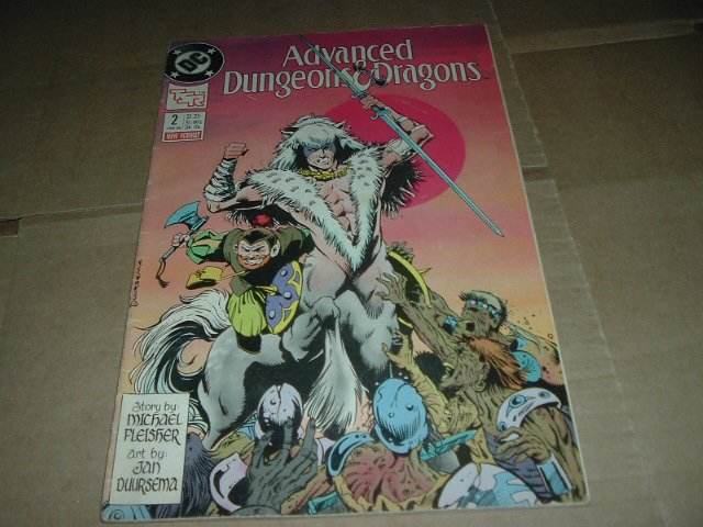 Advanced Dungeons & Dragons #2 (DC Comics 1989 TSR) Save $$$ with Flat Shipping Special