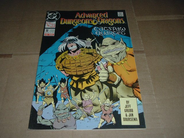 Advanced Dungeons & Dragons #10 VF- (DC Comics 1989 TSR) Save $$$ with Flat Shipping Special