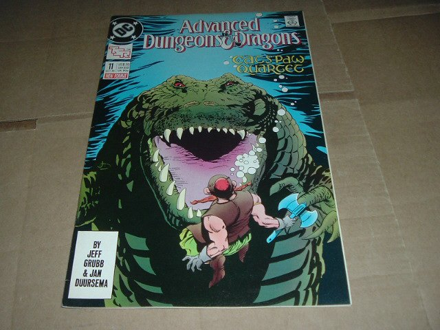 Advanced Dungeons & Dragons #11 VF- (DC Comics 1989 TSR) Save $$$ with Flat Shipping Special