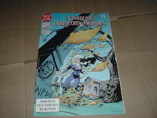 Advanced Dungeons & Dragons #28 VERY FINE- (DC Comics 1991 TSR) Save $$$ with Flat Shipping Special