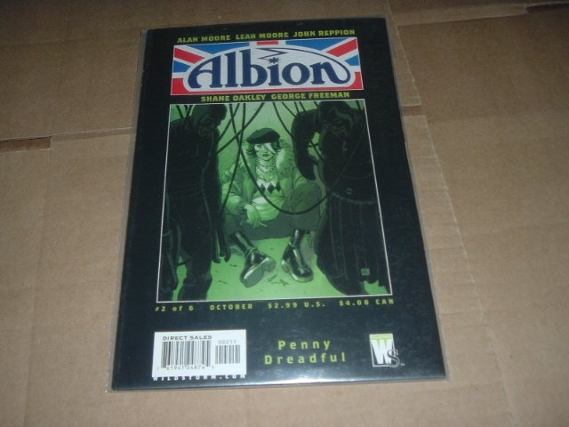 Alan Moore: Albion #2 VF+/NEAR MINT-(DC/Wildstorm Comics 2005) Save $$$ with Flat Shipping Special