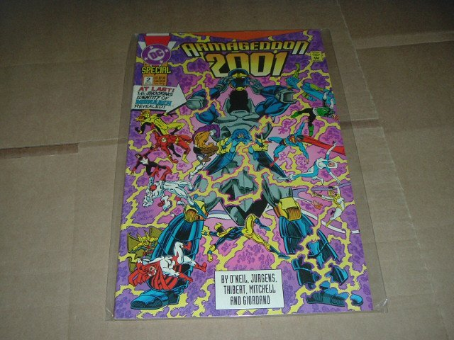 Armageddon 2001 #2 VF+ FIRST PRINT Dan Jurgens Art ALL 56 pages DC Comics 1991 Save Shipping Special