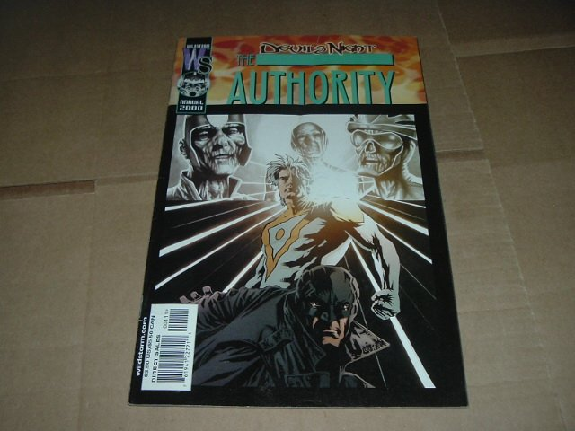 Authority Annual 2000 (vol 1) Joe Casey, Cully Hamner (DC Wildstorm Comics) FLAT SHIPPING SPECIAL