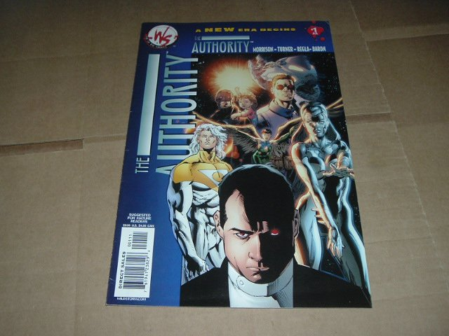 Authority #1 FIRST ISSUE (vol. 2) Morrison (DC Wildstorm Comics 2003) FLAT RATE SHIPPING SPECIAL