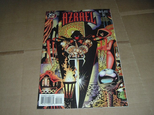 Azrael #3 NEAR MINT- (DC Comics 1995 Batman spin-off) Save $$$ with Flat Rate Shipping Special