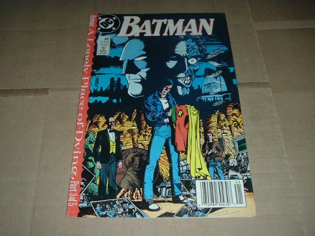 Batman #441 prequel to Tim Drake becoming Robin (DC Comics 1989) Save $$ Flat Shipping Special