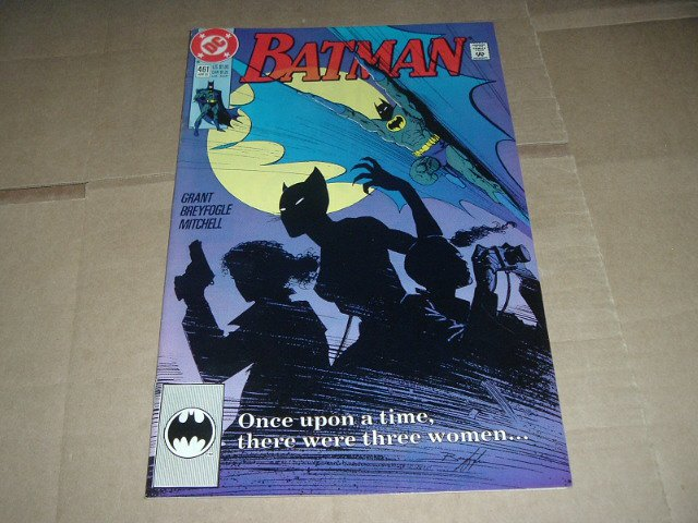 Batman #461 VERY FINE+ (DC Comics 1991 Copper Age) Save $$$ with Flat Rate Shipping Special