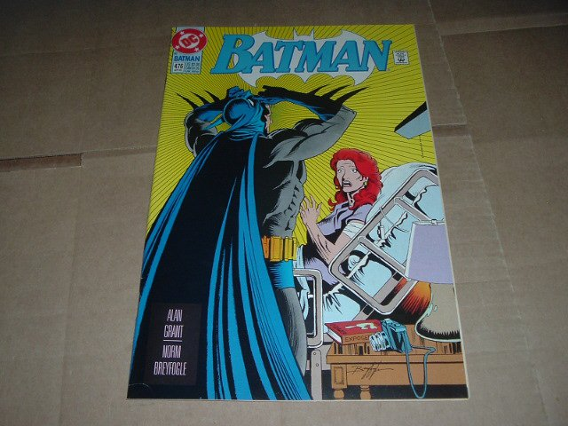 Batman #476 VERY FINE+ (DC Comics 1992) Save $$$ with Flat Rate Shipping Special