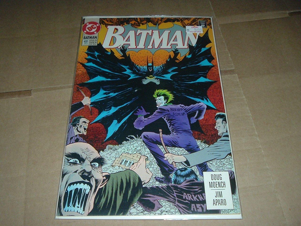 Batman #491 Bane frees Arkham Ayslum inmates VERY FINE (DC Comics 1993) Save $$ Shipping Special