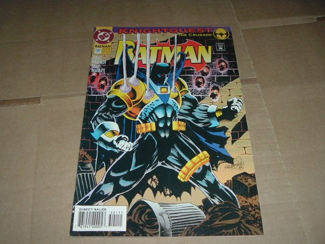 Batman #501 VERY FINE+ (DC Comics 1993) Save $$$ with Flat Rate Shipping Special