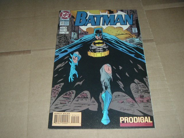 Batman #514 VERY FINE Dick Grayson as Batman (DC Comics 1995) Save $$$ Flat Shipping Special