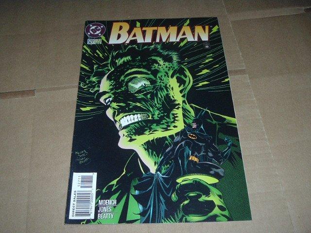 Batman #527 Two-Face & Schism (DC Comics 1996) Save $$$ Flat Shipping Special