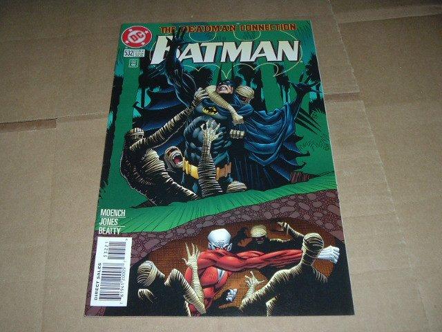 Batman #532 VF Deadman Regular Varaint Cover (DC Comics 1996) Save $$$ Flat Shipping Special
