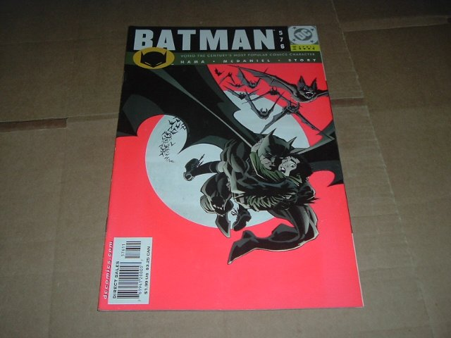 Batman #576 (DC Comics 2000) Save $$$ with Flat Rate Shipping Special